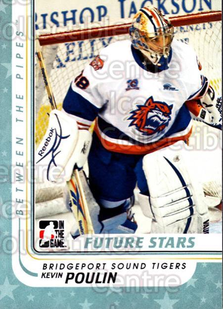 2010-11 Between The Pipes #72 Kevin Poulin<br/>15 In Stock - $1.00 each - <a href=https://centericecollectibles.foxycart.com/cart?name=2010-11%20Between%20The%20Pipes%20%2372%20Kevin%20Poulin...&price=$1.00&code=282440 class=foxycart> Buy it now! </a>