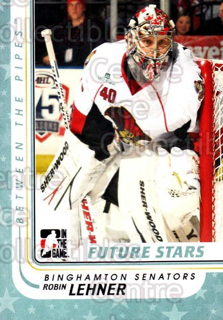 2010-11 Between The Pipes #83 Robin Lehner<br/>20 In Stock - $1.00 each - <a href=https://centericecollectibles.foxycart.com/cart?name=2010-11%20Between%20The%20Pipes%20%2383%20Robin%20Lehner...&price=$1.00&code=282451 class=foxycart> Buy it now! </a>