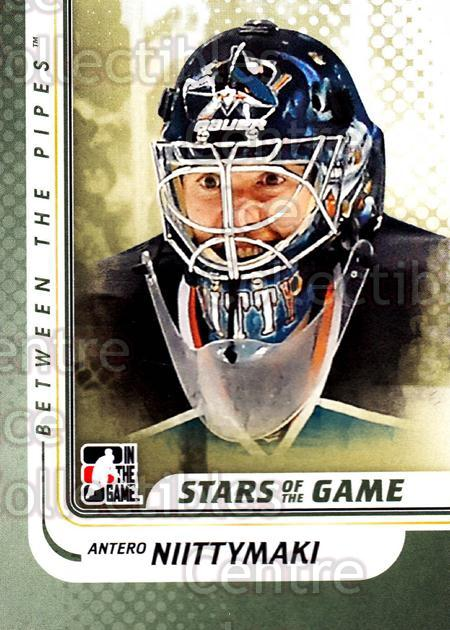 2010-11 Between The Pipes #89 Antero Niittymaki<br/>20 In Stock - $1.00 each - <a href=https://centericecollectibles.foxycart.com/cart?name=2010-11%20Between%20The%20Pipes%20%2389%20Antero%20Niittyma...&price=$1.00&code=282457 class=foxycart> Buy it now! </a>