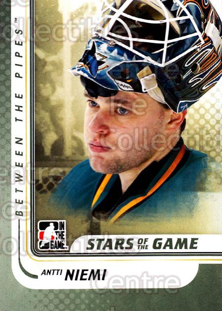 2010-11 Between The Pipes #90 Antti Niemi<br/>20 In Stock - $1.00 each - <a href=https://centericecollectibles.foxycart.com/cart?name=2010-11%20Between%20The%20Pipes%20%2390%20Antti%20Niemi...&price=$1.00&code=282458 class=foxycart> Buy it now! </a>