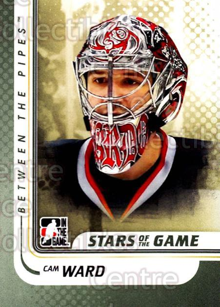 2010-11 Between The Pipes #93 Cam Ward<br/>20 In Stock - $1.00 each - <a href=https://centericecollectibles.foxycart.com/cart?name=2010-11%20Between%20The%20Pipes%20%2393%20Cam%20Ward...&price=$1.00&code=282461 class=foxycart> Buy it now! </a>