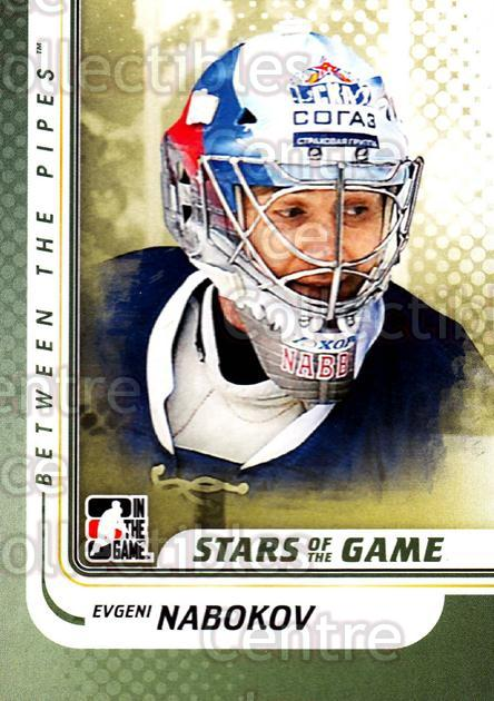 2010-11 Between The Pipes #104 Evgeni Nabokov<br/>19 In Stock - $1.00 each - <a href=https://centericecollectibles.foxycart.com/cart?name=2010-11%20Between%20The%20Pipes%20%23104%20Evgeni%20Nabokov...&quantity_max=19&price=$1.00&code=282472 class=foxycart> Buy it now! </a>