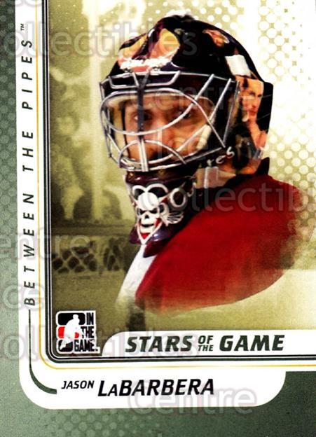 2010-11 Between The Pipes #109 Jason LaBarbera<br/>20 In Stock - $1.00 each - <a href=https://centericecollectibles.foxycart.com/cart?name=2010-11%20Between%20The%20Pipes%20%23109%20Jason%20LaBarbera...&price=$1.00&code=282477 class=foxycart> Buy it now! </a>