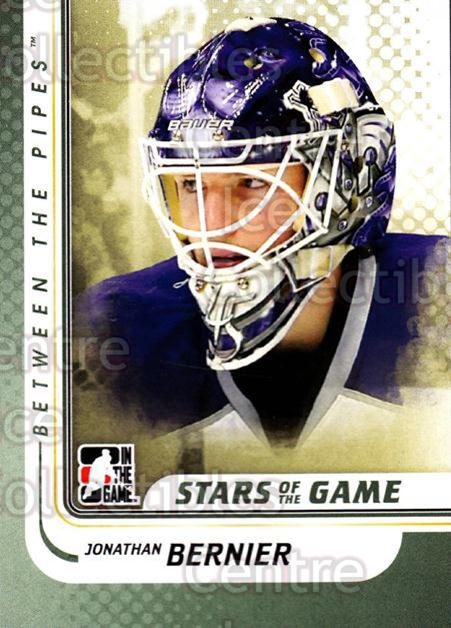 2010-11 Between The Pipes #113 Jonathan Bernier<br/>20 In Stock - $1.00 each - <a href=https://centericecollectibles.foxycart.com/cart?name=2010-11%20Between%20The%20Pipes%20%23113%20Jonathan%20Bernie...&price=$1.00&code=282481 class=foxycart> Buy it now! </a>
