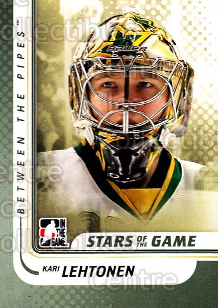 2010-11 Between The Pipes #117 Kari Lehtonen<br/>20 In Stock - $1.00 each - <a href=https://centericecollectibles.foxycart.com/cart?name=2010-11%20Between%20The%20Pipes%20%23117%20Kari%20Lehtonen...&price=$1.00&code=282485 class=foxycart> Buy it now! </a>