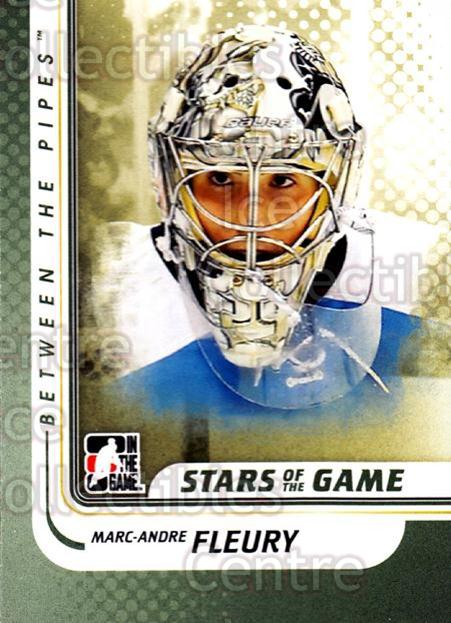 2010-11 Between The Pipes #118 Marc-Andre Fleury<br/>20 In Stock - $1.00 each - <a href=https://centericecollectibles.foxycart.com/cart?name=2010-11%20Between%20The%20Pipes%20%23118%20Marc-Andre%20Fleu...&price=$1.00&code=282486 class=foxycart> Buy it now! </a>
