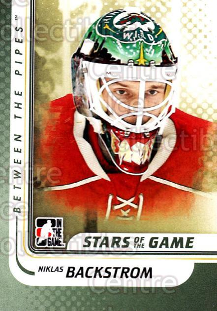 2010-11 Between The Pipes #128 Niklas Backstrom<br/>20 In Stock - $1.00 each - <a href=https://centericecollectibles.foxycart.com/cart?name=2010-11%20Between%20The%20Pipes%20%23128%20Niklas%20Backstro...&price=$1.00&code=282496 class=foxycart> Buy it now! </a>