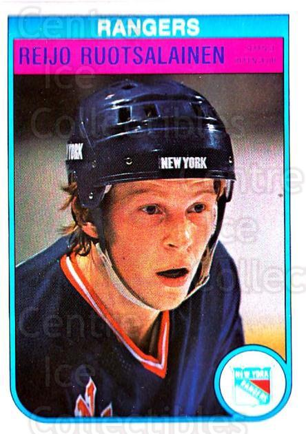 1982-83 O-Pee-Chee #233 Reijo Ruotsalainen<br/>1 In Stock - $1.00 each - <a href=https://centericecollectibles.foxycart.com/cart?name=1982-83%20O-Pee-Chee%20%23233%20Reijo%20Ruotsalai...&quantity_max=1&price=$1.00&code=28249 class=foxycart> Buy it now! </a>