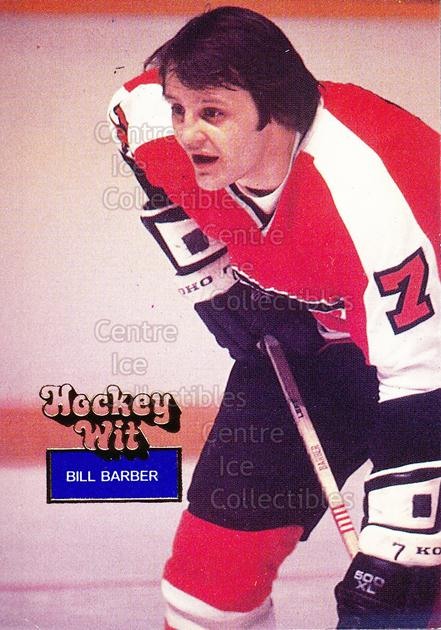 1994-95 Hockey Wit #13 Bill Barber<br/>12 In Stock - $2.00 each - <a href=https://centericecollectibles.foxycart.com/cart?name=1994-95%20Hockey%20Wit%20%2313%20Bill%20Barber...&quantity_max=12&price=$2.00&code=2824 class=foxycart> Buy it now! </a>