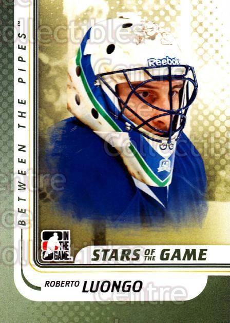 2010-11 Between The Pipes #135 Roberto Luongo<br/>20 In Stock - $1.00 each - <a href=https://centericecollectibles.foxycart.com/cart?name=2010-11%20Between%20The%20Pipes%20%23135%20Roberto%20Luongo...&price=$1.00&code=282503 class=foxycart> Buy it now! </a>
