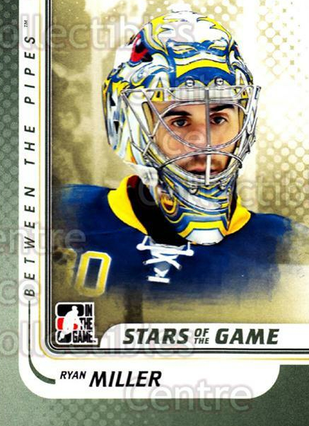 2010-11 Between The Pipes #136 Ryan Miller<br/>20 In Stock - $1.00 each - <a href=https://centericecollectibles.foxycart.com/cart?name=2010-11%20Between%20The%20Pipes%20%23136%20Ryan%20Miller...&price=$1.00&code=282504 class=foxycart> Buy it now! </a>