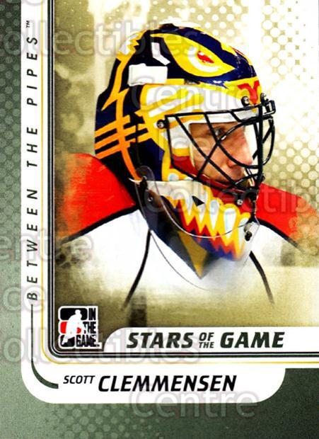 2010-11 Between The Pipes #137 Scott Clemmensen<br/>20 In Stock - $1.00 each - <a href=https://centericecollectibles.foxycart.com/cart?name=2010-11%20Between%20The%20Pipes%20%23137%20Scott%20Clemmense...&price=$1.00&code=282505 class=foxycart> Buy it now! </a>