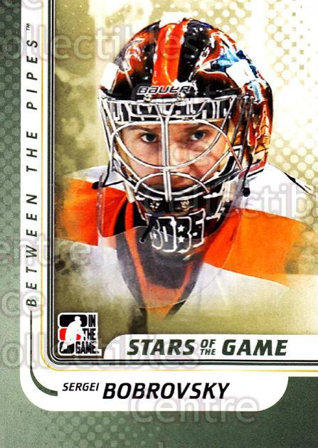 2010-11 Between The Pipes #139 Sergei Bobrovsky<br/>19 In Stock - $1.00 each - <a href=https://centericecollectibles.foxycart.com/cart?name=2010-11%20Between%20The%20Pipes%20%23139%20Sergei%20Bobrovsk...&price=$1.00&code=282507 class=foxycart> Buy it now! </a>