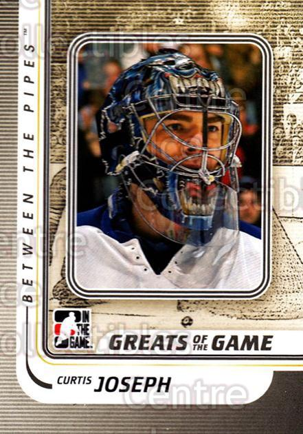 2010-11 Between The Pipes #152 Curtis Joseph<br/>20 In Stock - $1.00 each - <a href=https://centericecollectibles.foxycart.com/cart?name=2010-11%20Between%20The%20Pipes%20%23152%20Curtis%20Joseph...&price=$1.00&code=282520 class=foxycart> Buy it now! </a>
