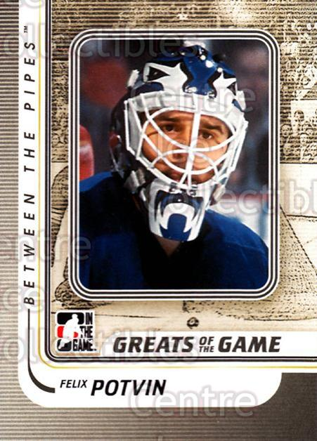 2010-11 Between The Pipes #159 Felix Potvin<br/>18 In Stock - $1.00 each - <a href=https://centericecollectibles.foxycart.com/cart?name=2010-11%20Between%20The%20Pipes%20%23159%20Felix%20Potvin...&quantity_max=18&price=$1.00&code=282527 class=foxycart> Buy it now! </a>