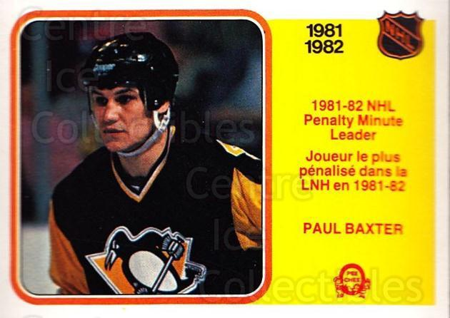 1982-83 O-Pee-Chee #238 Paul Baxter<br/>5 In Stock - $1.00 each - <a href=https://centericecollectibles.foxycart.com/cart?name=1982-83%20O-Pee-Chee%20%23238%20Paul%20Baxter...&quantity_max=5&price=$1.00&code=28252 class=foxycart> Buy it now! </a>