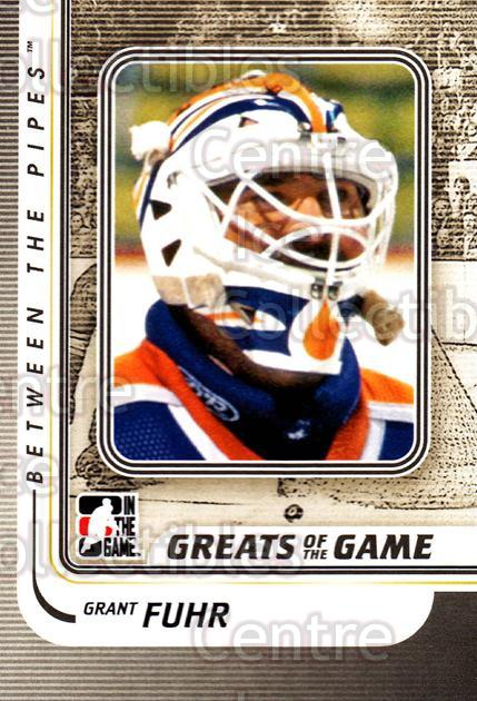 2010-11 Between The Pipes #164 Grant Fuhr<br/>20 In Stock - $1.00 each - <a href=https://centericecollectibles.foxycart.com/cart?name=2010-11%20Between%20The%20Pipes%20%23164%20Grant%20Fuhr...&price=$1.00&code=282532 class=foxycart> Buy it now! </a>
