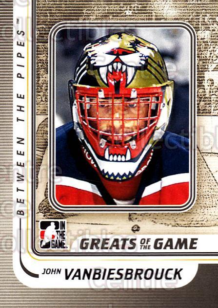 2010-11 Between The Pipes #167 John Vanbiesbrouck<br/>19 In Stock - $1.00 each - <a href=https://centericecollectibles.foxycart.com/cart?name=2010-11%20Between%20The%20Pipes%20%23167%20John%20Vanbiesbro...&price=$1.00&code=282535 class=foxycart> Buy it now! </a>