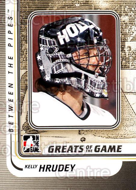 2010-11 Between The Pipes #169 Kelly Hrudey<br/>20 In Stock - $1.00 each - <a href=https://centericecollectibles.foxycart.com/cart?name=2010-11%20Between%20The%20Pipes%20%23169%20Kelly%20Hrudey...&price=$1.00&code=282537 class=foxycart> Buy it now! </a>