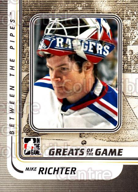2010-11 Between The Pipes #172 Mike Richter<br/>18 In Stock - $1.00 each - <a href=https://centericecollectibles.foxycart.com/cart?name=2010-11%20Between%20The%20Pipes%20%23172%20Mike%20Richter...&price=$1.00&code=282540 class=foxycart> Buy it now! </a>