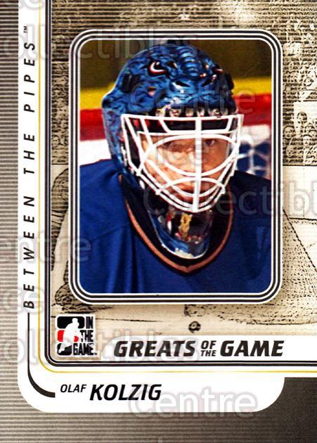2010-11 Between The Pipes #174 Olaf Kolzig<br/>18 In Stock - $1.00 each - <a href=https://centericecollectibles.foxycart.com/cart?name=2010-11%20Between%20The%20Pipes%20%23174%20Olaf%20Kolzig...&quantity_max=18&price=$1.00&code=282542 class=foxycart> Buy it now! </a>