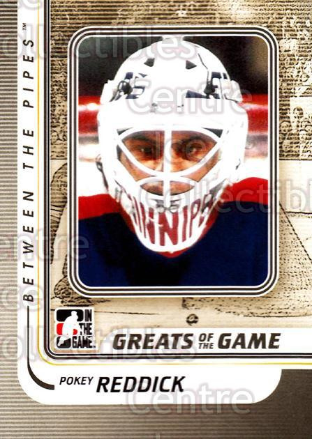 2010-11 Between The Pipes #177 Pokey Reddick<br/>19 In Stock - $1.00 each - <a href=https://centericecollectibles.foxycart.com/cart?name=2010-11%20Between%20The%20Pipes%20%23177%20Pokey%20Reddick...&price=$1.00&code=282545 class=foxycart> Buy it now! </a>