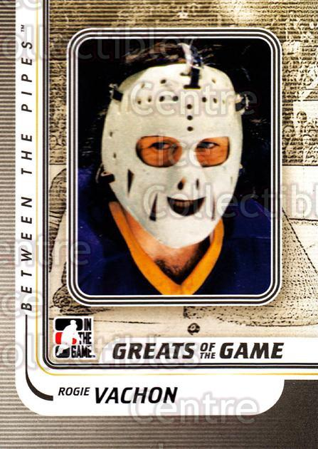 2010-11 Between The Pipes #180 Rogie Vachon<br/>17 In Stock - $1.00 each - <a href=https://centericecollectibles.foxycart.com/cart?name=2010-11%20Between%20The%20Pipes%20%23180%20Rogie%20Vachon...&price=$1.00&code=282548 class=foxycart> Buy it now! </a>