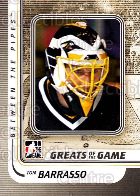 2010-11 Between The Pipes #184 Tom Barrasso<br/>18 In Stock - $1.00 each - <a href=https://centericecollectibles.foxycart.com/cart?name=2010-11%20Between%20The%20Pipes%20%23184%20Tom%20Barrasso...&price=$1.00&code=282552 class=foxycart> Buy it now! </a>