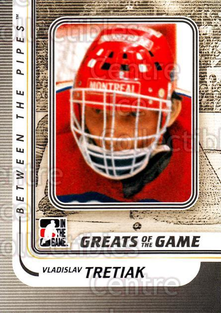 2010-11 Between The Pipes #186 Vladislav Tretiak<br/>19 In Stock - $2.00 each - <a href=https://centericecollectibles.foxycart.com/cart?name=2010-11%20Between%20The%20Pipes%20%23186%20Vladislav%20Treti...&price=$2.00&code=282554 class=foxycart> Buy it now! </a>