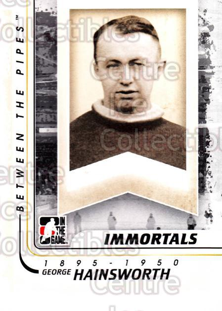2010-11 Between The Pipes #192 George Hainsworth<br/>20 In Stock - $1.00 each - <a href=https://centericecollectibles.foxycart.com/cart?name=2010-11%20Between%20The%20Pipes%20%23192%20George%20Hainswor...&price=$1.00&code=282560 class=foxycart> Buy it now! </a>