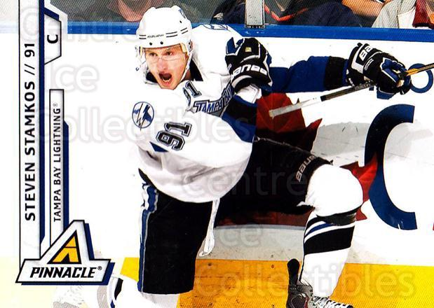 2010-11 Pinnacle #24 Steven Stamkos<br/>6 In Stock - $1.00 each - <a href=https://centericecollectibles.foxycart.com/cart?name=2010-11%20Pinnacle%20%2324%20Steven%20Stamkos...&price=$1.00&code=282640 class=foxycart> Buy it now! </a>