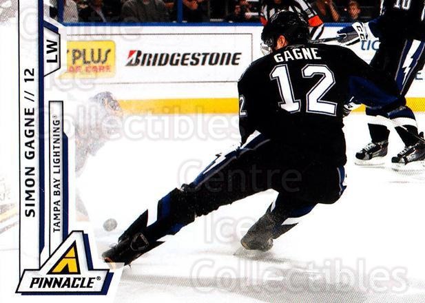 2010-11 Pinnacle #25 Simon Gagne<br/>6 In Stock - $1.00 each - <a href=https://centericecollectibles.foxycart.com/cart?name=2010-11%20Pinnacle%20%2325%20Simon%20Gagne...&quantity_max=6&price=$1.00&code=282641 class=foxycart> Buy it now! </a>