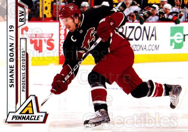 2010-11 Pinnacle #48 Shane Doan<br/>6 In Stock - $1.00 each - <a href=https://centericecollectibles.foxycart.com/cart?name=2010-11%20Pinnacle%20%2348%20Shane%20Doan...&quantity_max=6&price=$1.00&code=282664 class=foxycart> Buy it now! </a>