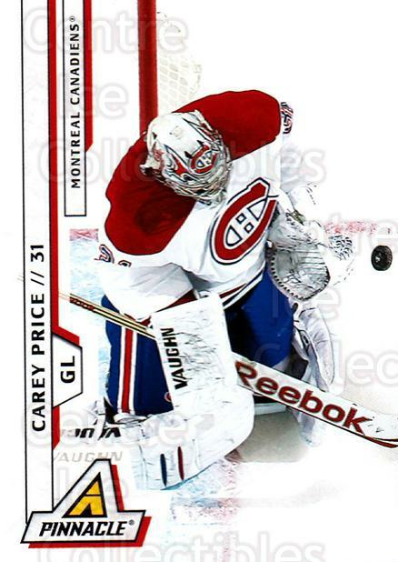 2010-11 Pinnacle #95 Carey Price<br/>6 In Stock - $1.00 each - <a href=https://centericecollectibles.foxycart.com/cart?name=2010-11%20Pinnacle%20%2395%20Carey%20Price...&price=$1.00&code=282711 class=foxycart> Buy it now! </a>