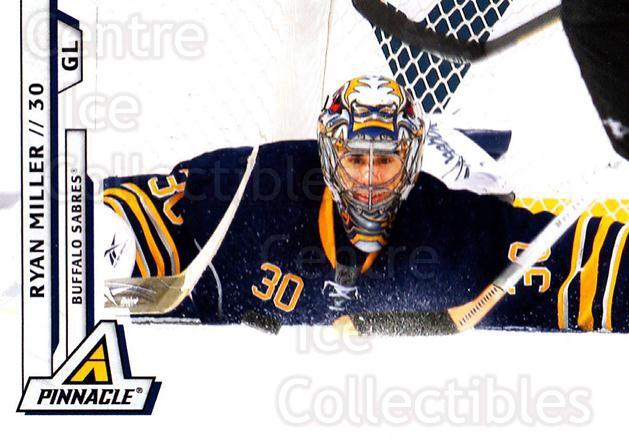 2010-11 Pinnacle #177 Ryan Miller<br/>7 In Stock - $1.00 each - <a href=https://centericecollectibles.foxycart.com/cart?name=2010-11%20Pinnacle%20%23177%20Ryan%20Miller...&quantity_max=7&price=$1.00&code=282793 class=foxycart> Buy it now! </a>