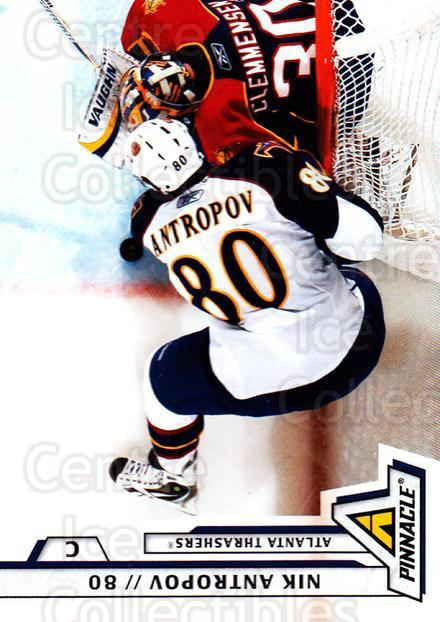 2010-11 Pinnacle #189 Nik Antropov<br/>7 In Stock - $1.00 each - <a href=https://centericecollectibles.foxycart.com/cart?name=2010-11%20Pinnacle%20%23189%20Nik%20Antropov...&quantity_max=7&price=$1.00&code=282805 class=foxycart> Buy it now! </a>