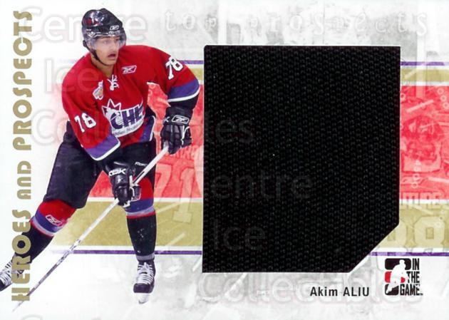 2007-08 ITG Heroes and Prospects #103 Akim Aliu<br/>2 In Stock - $5.00 each - <a href=https://centericecollectibles.foxycart.com/cart?name=2007-08%20ITG%20Heroes%20and%20Prospects%20%23103%20Akim%20Aliu...&price=$5.00&code=282889 class=foxycart> Buy it now! </a>