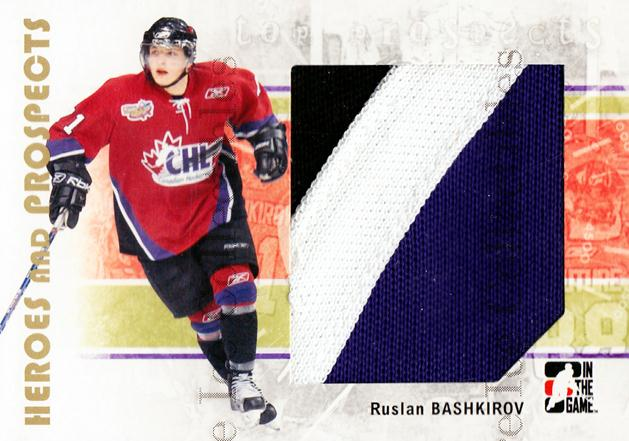 2007-08 ITG Heroes and Prospects #108 Ruslan Bashkirov<br/>1 In Stock - $5.00 each - <a href=https://centericecollectibles.foxycart.com/cart?name=2007-08%20ITG%20Heroes%20and%20Prospects%20%23108%20Ruslan%20Bashkiro...&price=$5.00&code=282894 class=foxycart> Buy it now! </a>