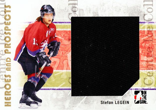 2007-08 ITG Heroes and Prospects #111 Stefan Legein<br/>4 In Stock - $5.00 each - <a href=https://centericecollectibles.foxycart.com/cart?name=2007-08%20ITG%20Heroes%20and%20Prospects%20%23111%20Stefan%20Legein...&price=$5.00&code=282897 class=foxycart> Buy it now! </a>
