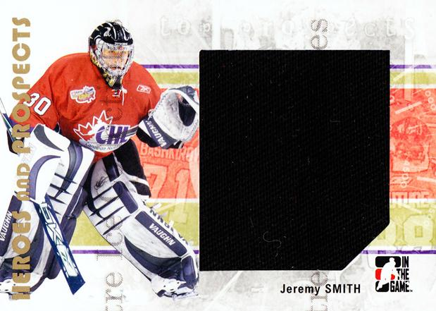 2007-08 ITG Heroes and Prospects #112 Jeremy Smith<br/>1 In Stock - $5.00 each - <a href=https://centericecollectibles.foxycart.com/cart?name=2007-08%20ITG%20Heroes%20and%20Prospects%20%23112%20Jeremy%20Smith...&price=$5.00&code=282898 class=foxycart> Buy it now! </a>
