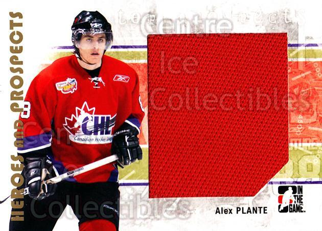 2007-08 ITG Heroes and Prospects #117 Alex Plante<br/>1 In Stock - $5.00 each - <a href=https://centericecollectibles.foxycart.com/cart?name=2007-08%20ITG%20Heroes%20and%20Prospects%20%23117%20Alex%20Plante...&price=$5.00&code=282903 class=foxycart> Buy it now! </a>