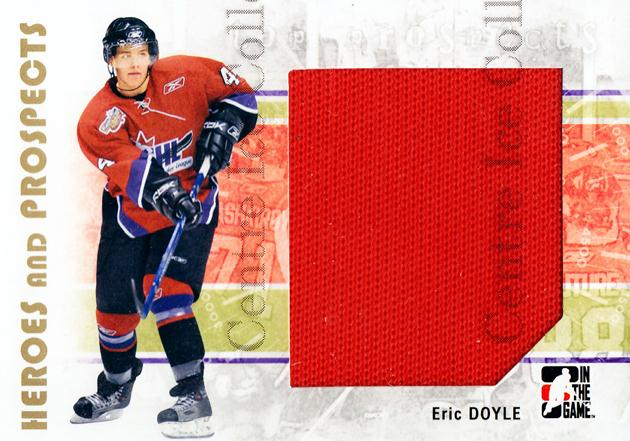 2007-08 ITG Heroes and Prospects #118 Eric Doyle<br/>4 In Stock - $5.00 each - <a href=https://centericecollectibles.foxycart.com/cart?name=2007-08%20ITG%20Heroes%20and%20Prospects%20%23118%20Eric%20Doyle...&price=$5.00&code=282904 class=foxycart> Buy it now! </a>