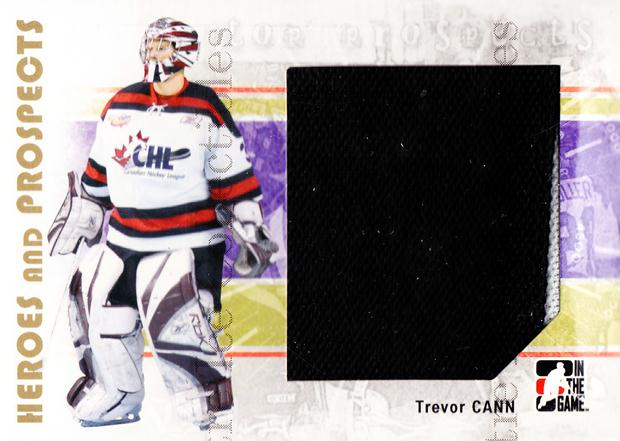 2007-08 ITG Heroes and Prospects #121 Trevor Cann<br/>1 In Stock - $5.00 each - <a href=https://centericecollectibles.foxycart.com/cart?name=2007-08%20ITG%20Heroes%20and%20Prospects%20%23121%20Trevor%20Cann...&price=$5.00&code=282907 class=foxycart> Buy it now! </a>