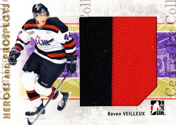 2007-08 ITG Heroes and Prospects #122 Keven Veilleux<br/>1 In Stock - $5.00 each - <a href=https://centericecollectibles.foxycart.com/cart?name=2007-08%20ITG%20Heroes%20and%20Prospects%20%23122%20Keven%20Veilleux...&price=$5.00&code=282908 class=foxycart> Buy it now! </a>