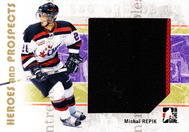 2007-08 ITG Heroes and Prospects #124 Michal Repik<br/>3 In Stock - $5.00 each - <a href=https://centericecollectibles.foxycart.com/cart?name=2007-08%20ITG%20Heroes%20and%20Prospects%20%23124%20Michal%20Repik...&price=$5.00&code=282910 class=foxycart> Buy it now! </a>