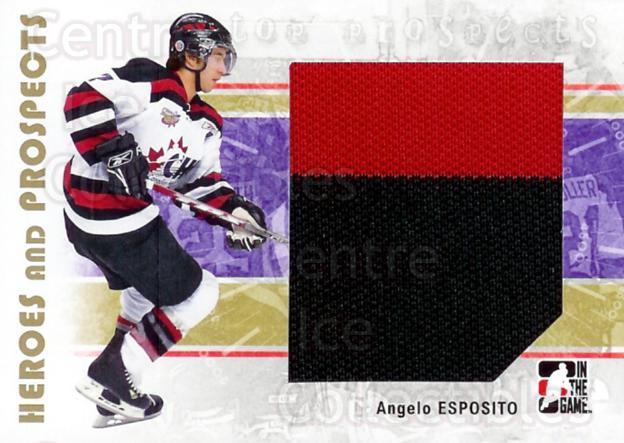 2007-08 ITG Heroes and Prospects #125 Angelo Esposito<br/>2 In Stock - $5.00 each - <a href=https://centericecollectibles.foxycart.com/cart?name=2007-08%20ITG%20Heroes%20and%20Prospects%20%23125%20Angelo%20Esposito...&price=$5.00&code=282911 class=foxycart> Buy it now! </a>