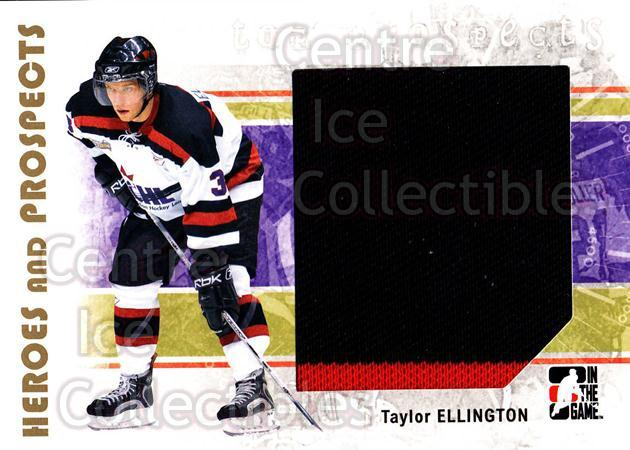 2007-08 ITG Heroes and Prospects #126 Taylor Ellington<br/>1 In Stock - $5.00 each - <a href=https://centericecollectibles.foxycart.com/cart?name=2007-08%20ITG%20Heroes%20and%20Prospects%20%23126%20Taylor%20Ellingto...&price=$5.00&code=282912 class=foxycart> Buy it now! </a>