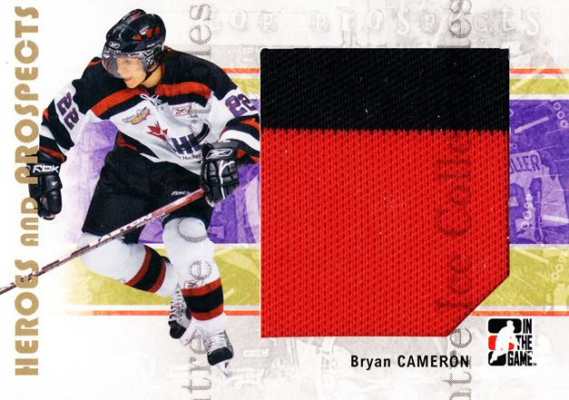 2007-08 ITG Heroes and Prospects #131 Bryan Cameron<br/>3 In Stock - $5.00 each - <a href=https://centericecollectibles.foxycart.com/cart?name=2007-08%20ITG%20Heroes%20and%20Prospects%20%23131%20Bryan%20Cameron...&price=$5.00&code=282917 class=foxycart> Buy it now! </a>