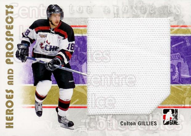 2007-08 ITG Heroes and Prospects #132 Colton Gillies<br/>1 In Stock - $5.00 each - <a href=https://centericecollectibles.foxycart.com/cart?name=2007-08%20ITG%20Heroes%20and%20Prospects%20%23132%20Colton%20Gillies...&price=$5.00&code=282918 class=foxycart> Buy it now! </a>