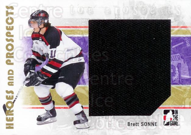 2007-08 ITG Heroes and Prospects #133 Brett Sonne<br/>1 In Stock - $5.00 each - <a href=https://centericecollectibles.foxycart.com/cart?name=2007-08%20ITG%20Heroes%20and%20Prospects%20%23133%20Brett%20Sonne...&price=$5.00&code=282919 class=foxycart> Buy it now! </a>